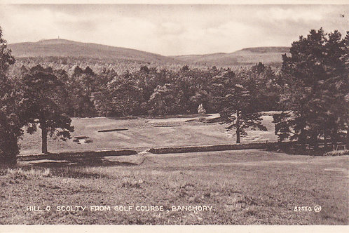 Banchory Golf Course Ref.1551 C.1920s