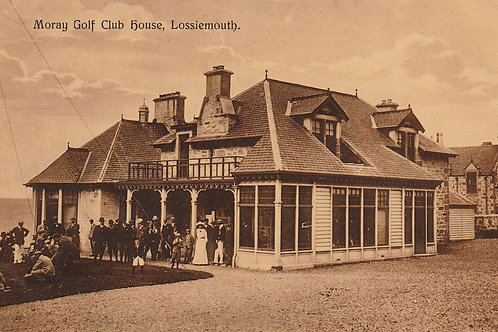 Stotfield (Moray) Golf Club House Ref.2704 C.pre 1914