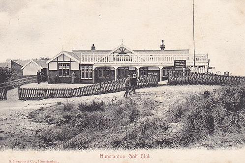 Hunstanton Golf Pavilion.Ref 726. C.Pre 1913