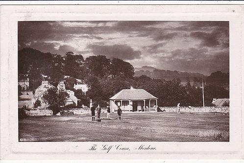 Aberdour Golf Pavillion circa 1911 (Ref 1365)