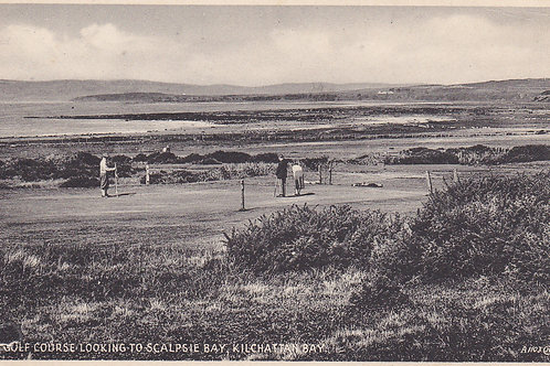 Scalpsie Bay from The Golf Links.Ref 372. C.1930s