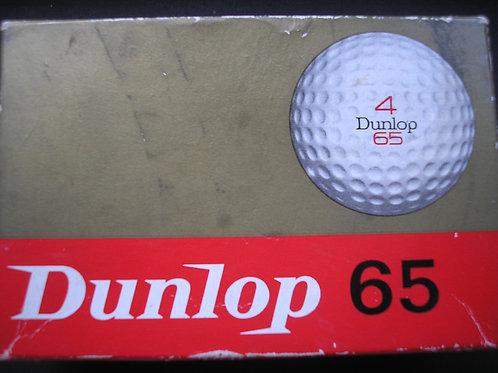 """Dunlop """"65""""1.62 Golf Balls Ref.212"""