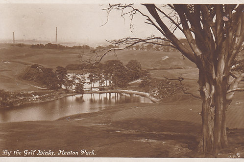 Heaton Park Golf Course M/Cr Ref.119 C.1913