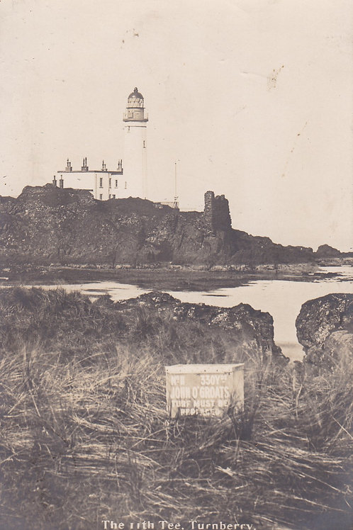 Turnberry Links 11th Tee Ref.2235a C.Pre 1914