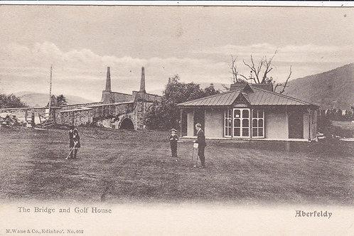 Aberfeldy Bridge & Golf House Ref 1136 C.1904