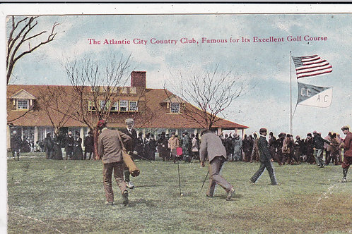 Atlantic City Country Club Harry Vardon Match Ref 607