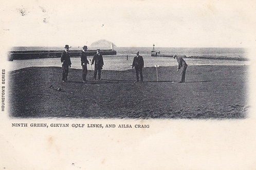 Girvan Golf Links,Ayrshire.C.1903 Ref 701.
