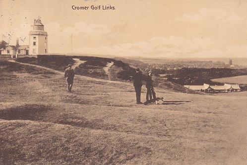 Cromer Golf Links & Lighthouse Ref.1944 C.1913