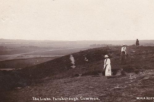 Farnborough Common Golf Links Ref.2172a C.Ea 1900