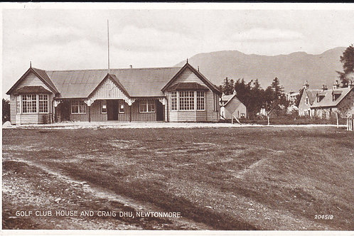 Newtonmore Golf House Ref.1726 C.1938