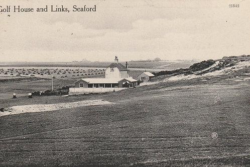 Seaford Downs Golf Links Ref.2435 C.Ea 1900