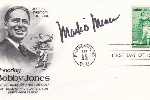 U S Masters.Bobby Jones Cover.Ref CC 12. C.1981