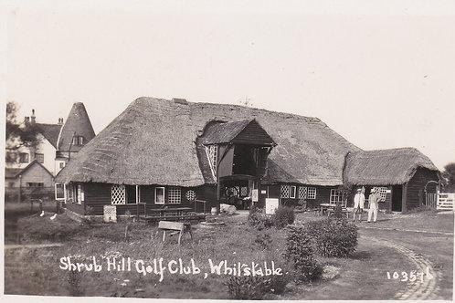 Shrub Hill Golf Club,Kent.Ref 415. C.Early 1900s