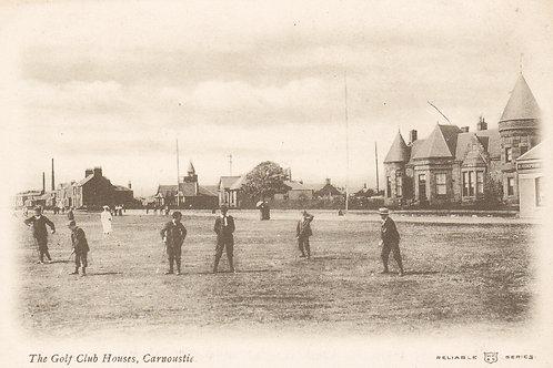 Carnoustie Golf Club Houses.Ref 052.C 1905-10