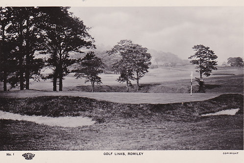 Romiley Golf Course C.1920s Ref.2103a