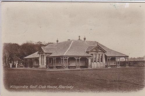 Kilspindie Golf Club House Ref.1336 C.1914