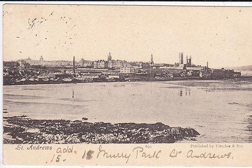 St Andrews looking East.Ref 273 C.1906