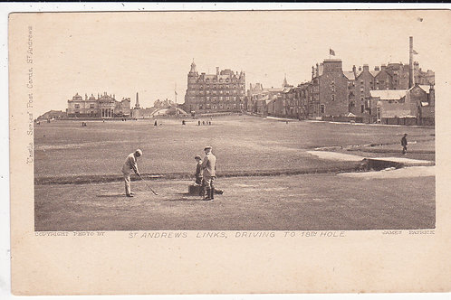Carnoustie.The 1st Hole Ref.1502 C.1903