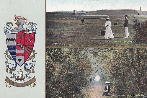 Bexhill-On-Sea Golf Links +.Ref 310 C.1910