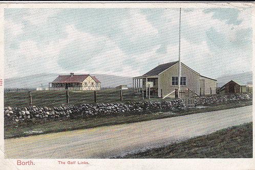 Borth Golf Club House & Links C.1908 Ref.1670