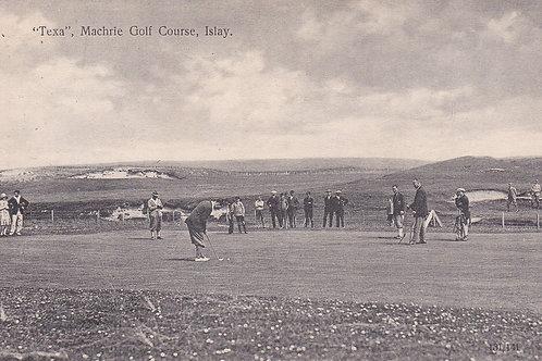 Machrie Golf Links C.19 Golf Match Ref.529a