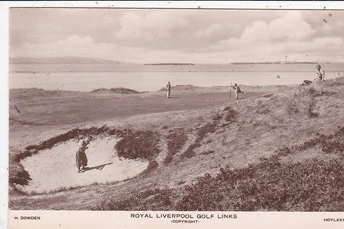 Hoylake Golf Links Ref.1419 C.1930