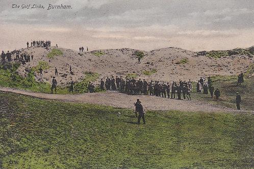 SOLD>Ref.2047a.Vardon v Taylor Golf Match Burnham C.1903 Ref.2047a