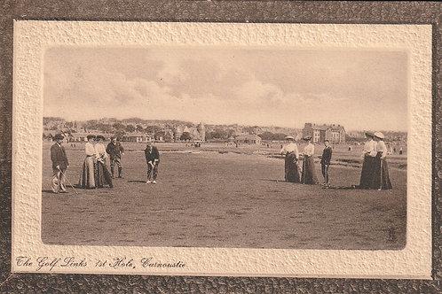 Carnoustie Links 1st. Hole Ref.2665 C.pre 1910