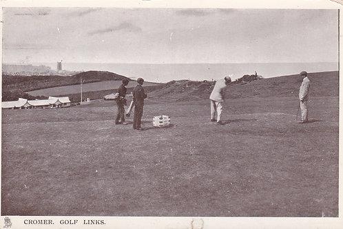 SOLD>Ref.1916.Cromer Golf Links Ref.1916 C.Ea 1900s
