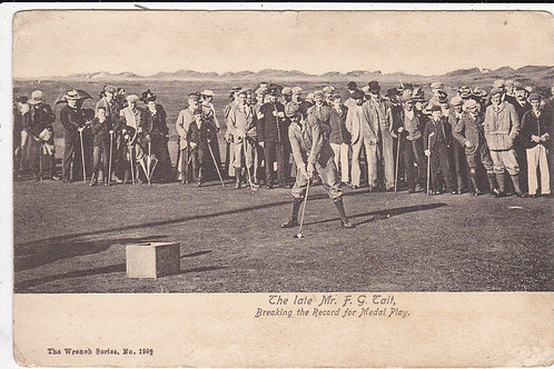 Freddie Tate at St Andrews Ref.403 C.1898