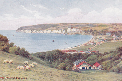 Seaton from The Golf Links.Ref 813. C.1925