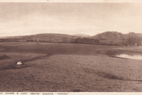 Aboyne Golf Course Ref.1972a C.Ea 1900s