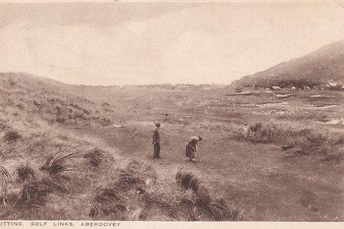 Aberdovey Golf Links Ref.707a C.ea 1900