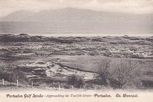 SOLD>Ref.800.Portsalon Golf Links,Co.Donegal.Ref 800. C.1905-10