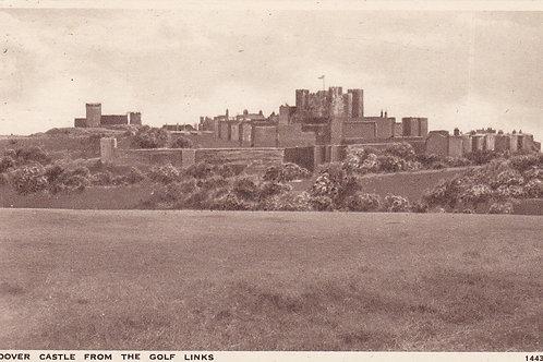 Dover Golf Links & Castle Ref.1868 C.1947