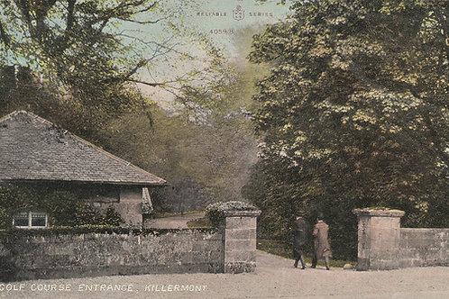 Killermont Golf Club Entrance Ref.2008a C.pre 1914C.pre 1914