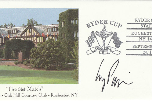 Oak Hill Ryder Cup 1995 SIGNED 1st Day Cover Ref.FDC. 04