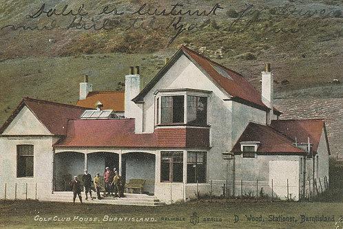 Burntisland Golf Club House Ref.2572 C.pre 1903