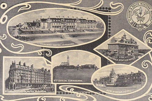 Turnberry Hotel & Golf Links.Ref 490. C.1907