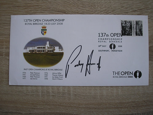 Carnoustie 2008 Signed Comm.Cover Ref.059