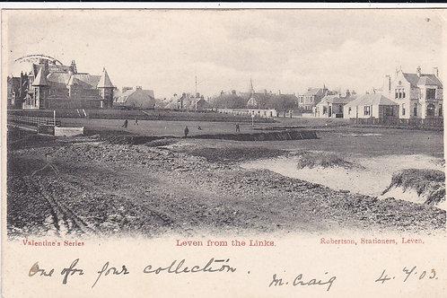 SOLD>Ref.1373.Leven Links & Town Ref.1373 C.1903