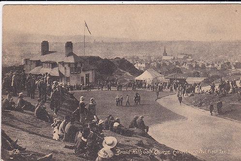 Braid Hills Golf Club House Ref 1013 C.Early 1900