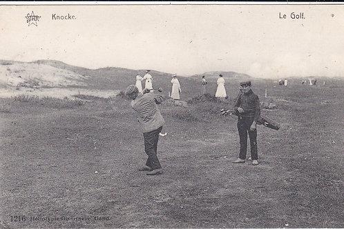 Knocke-Zoute (Royal) Golf Course,Belgium. Ref 1332 C.1913