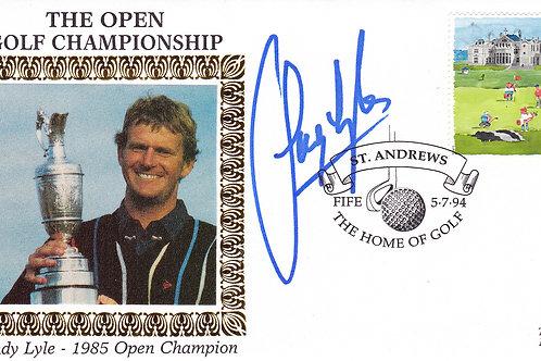 British Open Comm. Silk SIGNED.Ref 301  C.1994