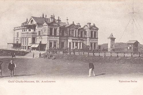 Tom Morris & St,Andrews Club.Ref 323.C.Early 1900