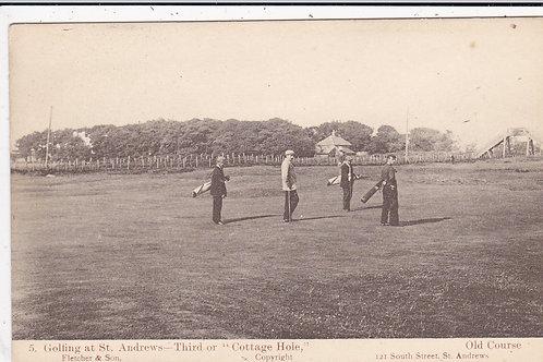 St Andrews (Golfing at)   Ref.1437 C.1905