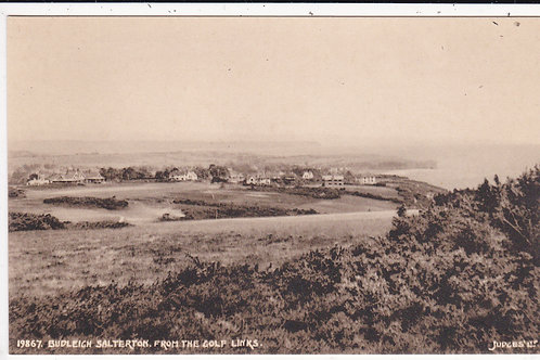 Budleigh Golf Links C.1920-30 Ref.1393