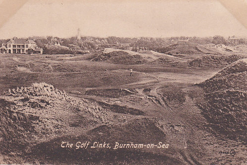 Burnham-on-Sea Golf Links.Ref 903. C.1915-18