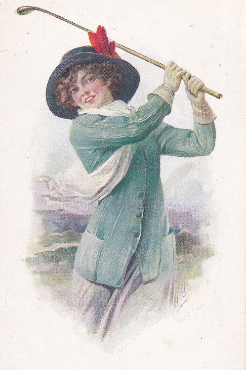Golf Art/Fashion PC  Ref.2124a C.190-20
