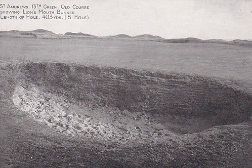 St Andrews Old Course Ref.134 C.1900-05